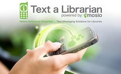 Text a Librarian Booth Artwork
