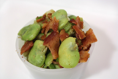 Angle Bacon and Fava Beans