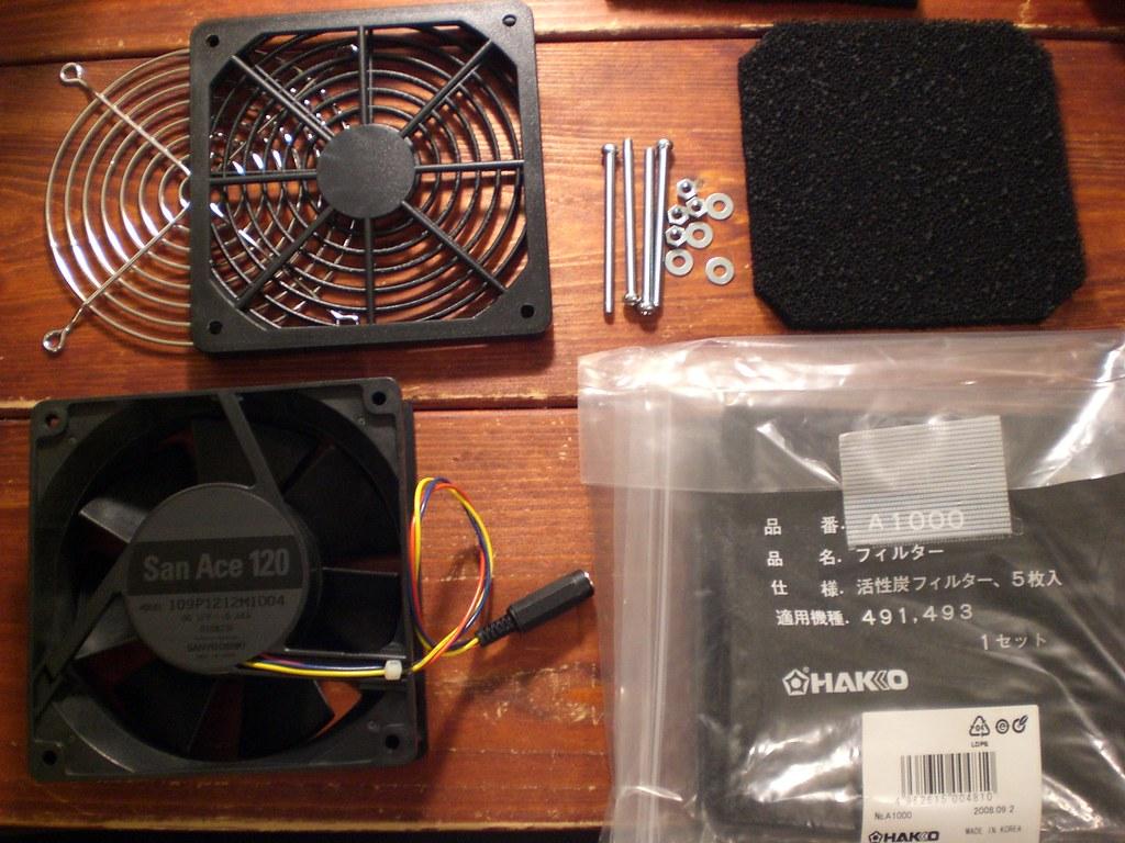 solder fume filter