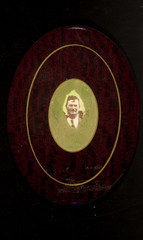 Man with mustache and tie (George Eastman House) Tags: portrait man cutout 1930s moustache medallion mustache oval georgeeastmanhouse geh:maker=unidentifiedphotographer geh:medium=gelatinsilverprintpopwithappliedcolorandchromolithographmountedoncelluloidmedallion geh:accession=200805010001