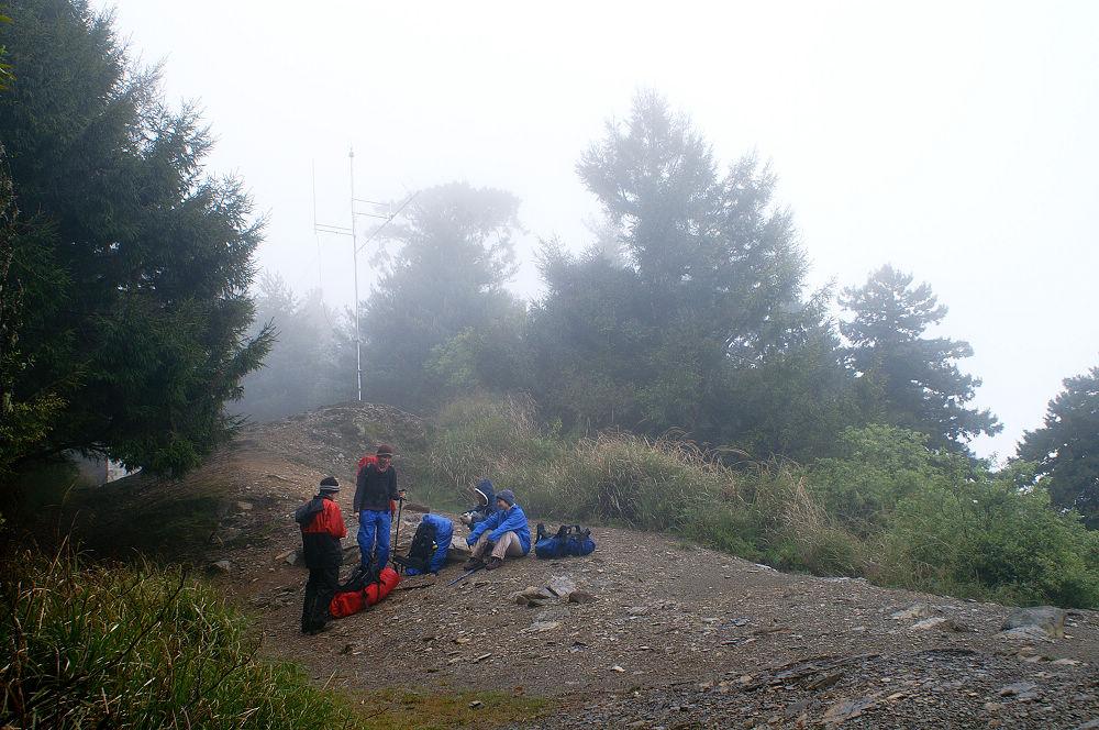 南湖大山day5-30 無線電山屋