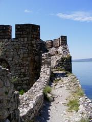 Written in stone (dobro_drvo) Tags: blue fab beauty stone river flickr serbia sunny natura soe danube dunav golubac