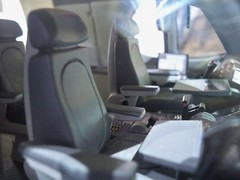 Airbus A350 XWB Mini Cabin Mock Up (Jon Ostrower) Tags: airbus a350 xwb