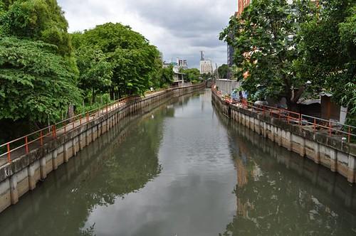 canal in bkk