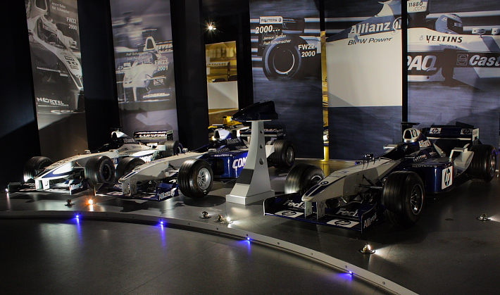 williams f1 factory tour | playstation universe