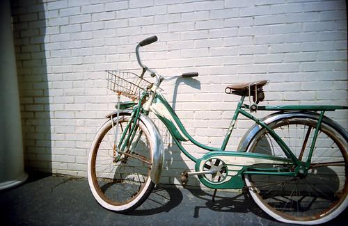 vintage bike by black slim devil