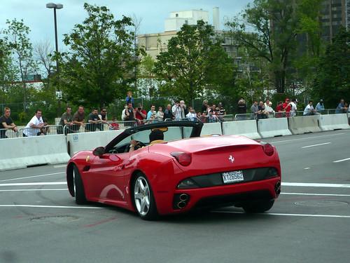2009 Ferrari California. Ottawa Ferrari Fest 2009: A