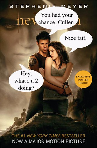 funny New Moon book cover