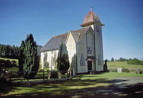 Iglesia Santa Cruz - Iglesia Camino a Ensenada