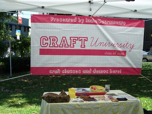 Craft-U booth