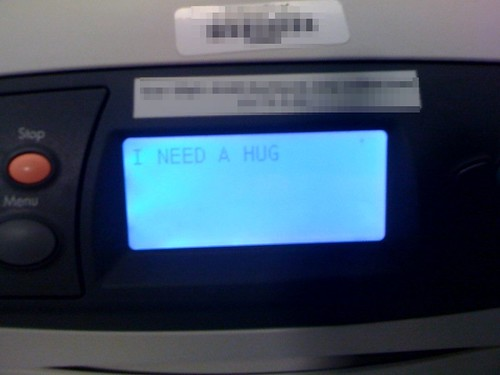 Poor Little Printer...