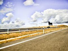 Telemaco solo queria volver a casa (rafallano) Tags: espaa carretera leon uno autopista rafael rafa nacional toro osborne n1 facebook llano castilla aburrimiento separacion manoloprieto nacktefrau rafallano rafaelllano