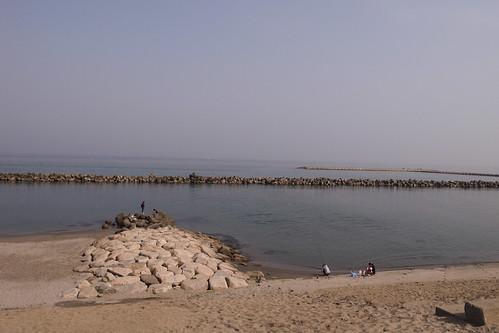 海辺の休日