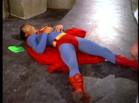 Sexy Lycra Superman Muscle Hunk Defeated To C  Redtube
