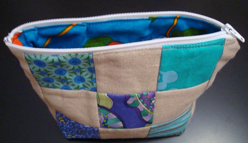 linen patchwork bag 3