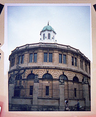 Sheldonian Theatre (pho-Tony) Tags: camera selfportrait color colour film home analog giant mirror diy flat minolta theatre kodak head wand ishootfilm iso negative oxford heads shutter button stick remote 100 kit analogue disc expired 100asa compact obsolete sheldonian extender selfie developing defunct c41 disc7 filmisnotdead jidori tetenal colortec remoteshutterbutton  selfiestick  minoltadisc7