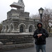 Peter in front of Belvedere Castle