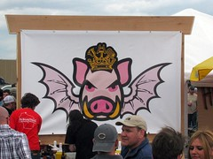 Evil Pig (silverfuture) Tags: beer metal drinking indiana brewery munster darklord fff threefloyds darklordday