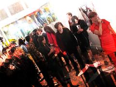hush, Twin, New image art gallery 22 (Hush...) Tags: streetart pasteup la twins stencil gallery contemporaryart santamonica graf twin exhibition urbanart melrose geisha artshow hush barracuda handstyle newimageartgallery