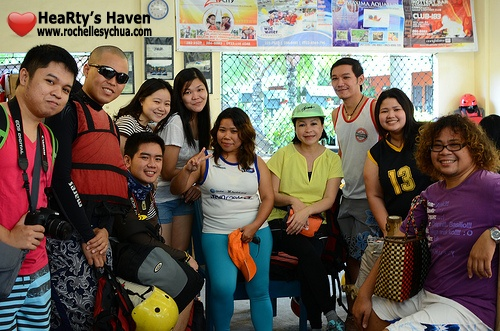 bloggers at davao crocodile park