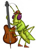Hop-a-Long Grasshopper (mikelitwin) Tags: music art kids illustration children kid artist character bugs childrens characters illustrator characterdesign litwin mikelitwin litwincreative paintox littlecharles surron lilchuckycharley countrybugs paintboxlabs surronmusicpublishing