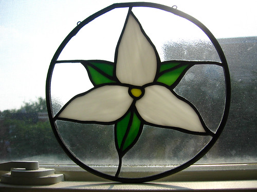Trillium Stained Glass Window