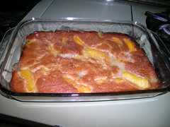 A Quickie Peach Cobbler (cuzinaddie) Tags: food pie recipe dessert peach peaches peachcobbler peachpie