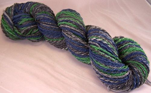 Finished navajo plying - Crafting 365.12