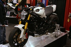 Custom Ducati Monster (Vinny D) Tags: nyc monster motorcycle sportbike custom ducati picnik cycleworld motorcycleshow brembo 999 jacobjavits ohlins