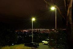 Hobart from a Car Park