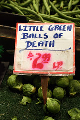 I Love Brussels Sprouts (~wesa~) Tags: seattle pikeplacemarket