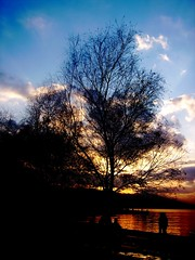 Kzl&Mavi (Yener ZTRK) Tags: sunset sky cloud clouds harbour trkiye scenic konaksquare konak izmir bulut ege manzara gnbatm turchia turkei aegeansea silet goldensea egedenizi turcha trkiyecumhuriyeti konakmeydan yenerztrk  gismeer t  kzlmavi dalgacmart yenerphotography