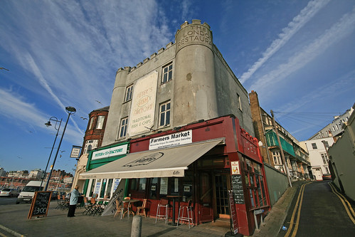 An Englishmans fish and chip shop is his castle