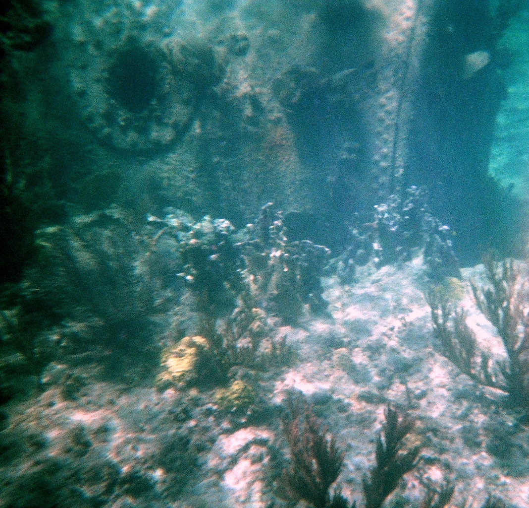 Under water Ship Wreck