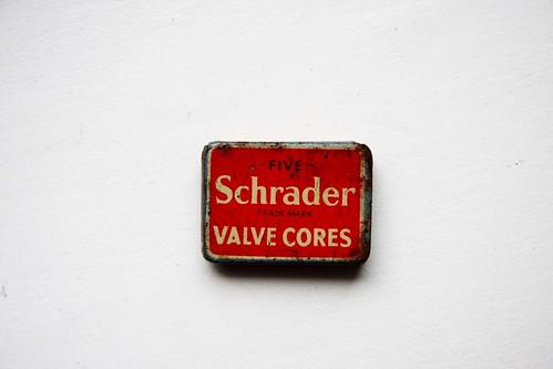 Five Schrader Valve Cores