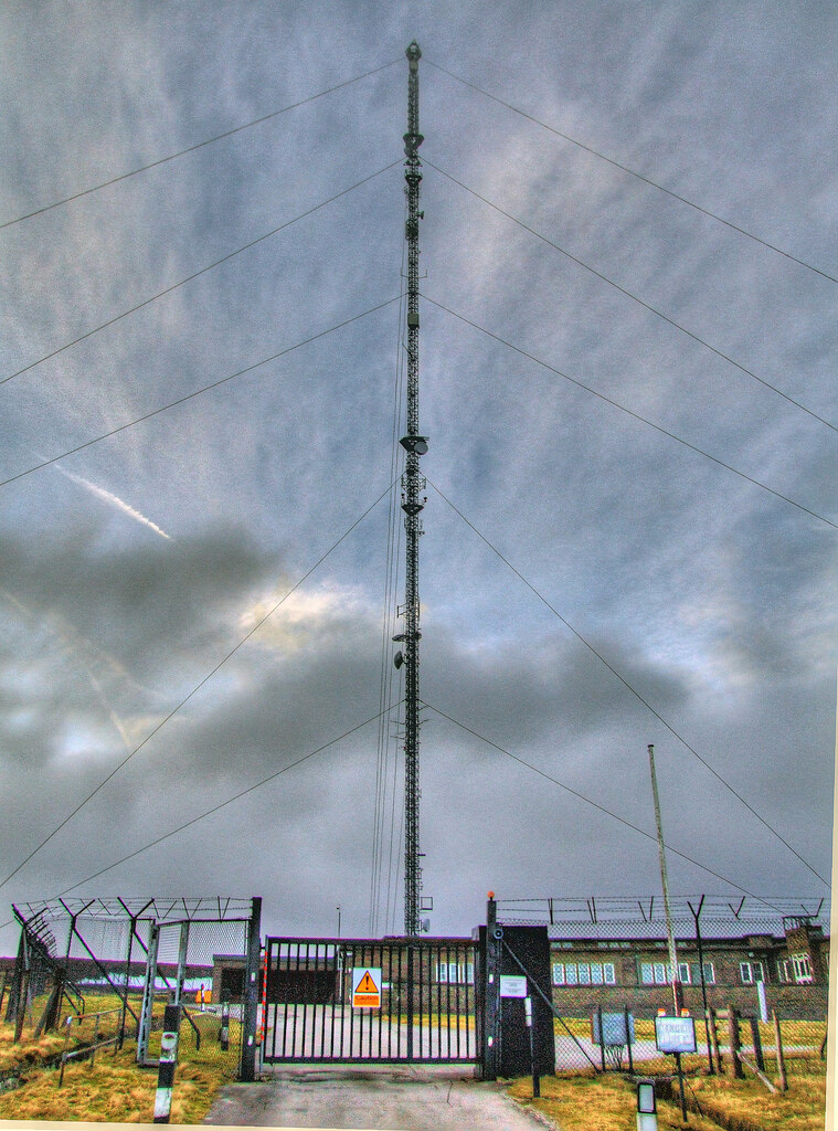 Holme Moss Mast HDR