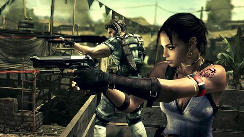 Resident Evil 5 sexy Sheva
