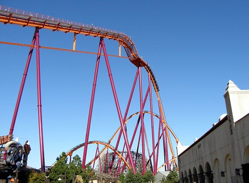 six flags rides videos. six flags great america rides.