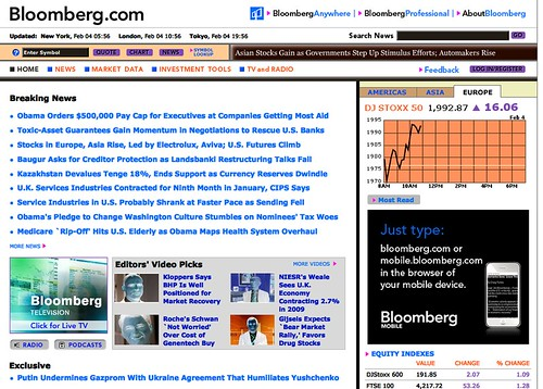 Bloomberg reversed