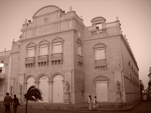 Teatro Heredia, Cartagena - Colombia.