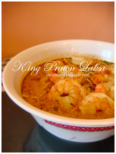 Royal Asian Restaurant: King Prawn Laksa Soup