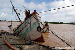 OOOPS.... (msokal) Tags: brazil fish sc brasil river fishing ship sink flood south photojournalism sul itajai acidente fotojornalismo