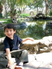 Joaquin (Soul_Smiling) Tags: park smile waterfall pond joaquin fujifilm mayfield
