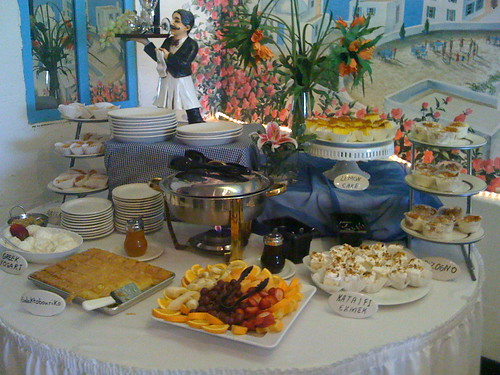Sunday Brunch Buffet at Anna's - Desserts
