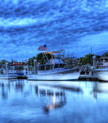 Ye Ole Pirate (Danny Rotondo Photography) Tags: beach clouds boats harbor boat dock florida cloudy hdr fernandinabeach ameliaisland