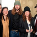 Director Andrew Hunt with Patti Smith, Steven Sebring, Deborah Schonfeld and Braddon Young.