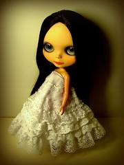Melancholic Bellucci (Blythemaniaco) Tags: love fashion doll moda monica mission blythe custom lm baleares muñeca bellucci ebl adlib erregiro
