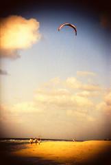 Playa (Cesar Poblete S.) Tags: film 35mm iso100 mar cuba playa viento arena nubes pelicula analoga varadero vacaciones proimage forzado400 nikonn90x agfasnapscane50