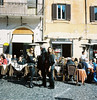 Two ladies and one gentleman (【 ken 】) Tags: roma europe italia afternoon openspace 広場 イタリア 女性 ヨーロッパ 午後 客