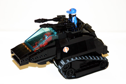 Lego GIJOE COBRA Hisstank with Cobra custom minifigs